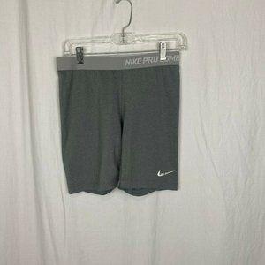 Nike Pro Combat Men's Gray compression shorts - L